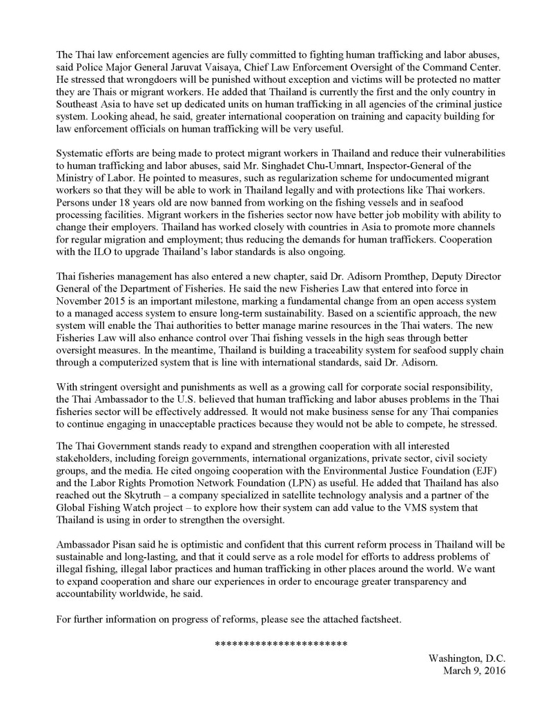 Press Release - Thai Fisheries Reforms Comprehensive and Irreversible - 9 March 2016_Page_2