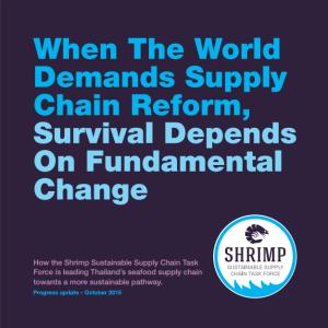 Sustainable Shrimp