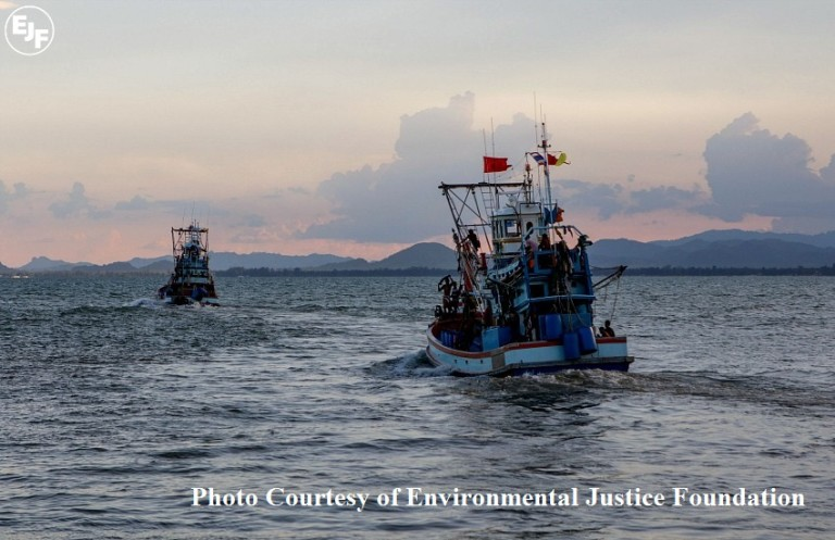 EJF fishing boat