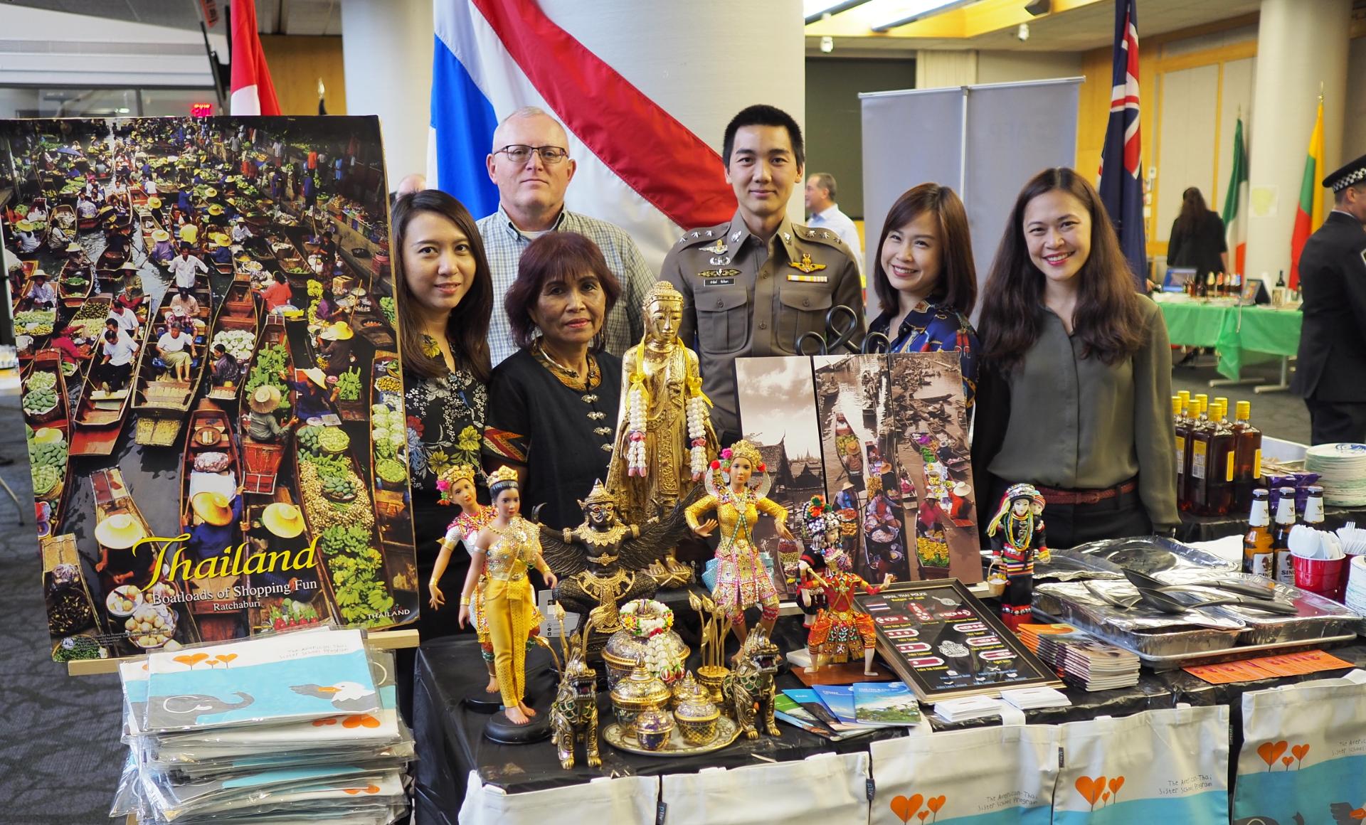 Anti TIP Project by Royal Thai Embassy at Washington D C